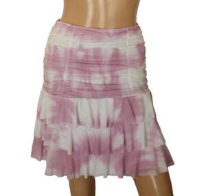 Lilipop Womens Skirt Layers Pink White Size T3 (size Medium)