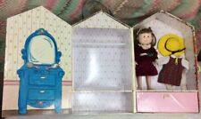 """Eden 8"""" Doll Madeline friend Danielle with Wardrobe Case and extra clothes"""