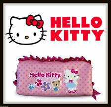 Hello Kitty Pink Ruffle Pencil Pouch - Sanrio , pencil bag