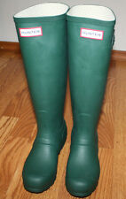 NEW Womens HUNTER Original Tall Rain boots Hunter Green Sz US 6 EU 37