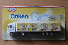 Modellino autocarro per birra Rimorchio trasporto MAN Dr.Oetker ONKEN YOGURT HS