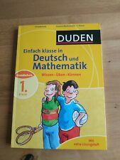 Duden Deutsch und Mathematik 1. Klasse Übungsaufgaben