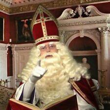 Santa Claus / Saint Nicholas Wig + Beard deluxe off-white