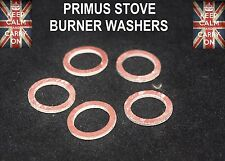 PRIMUS STOVE No5 BURNER WASHERS AND ALL SIMILAR SIZE STOVES