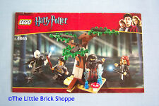 Lego Harry Potter 4865 The Forbidden Forest - Instruction Book Only - No Lego
