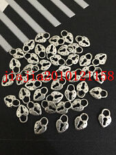 PJ0361 30pc Retro Tibetan Silver heart The lock Jewelry Accessories wholesale