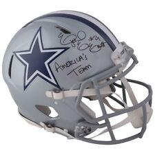 "EZEKIEL ELLIOTT Autographed ""Americas Team"" Dallas Cowboys Speed Helmet FANATICS"