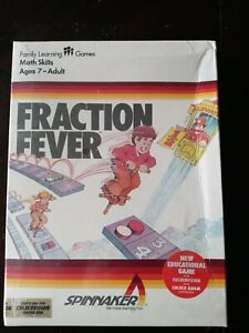 Colecovision Fraction Fever Coleco Vision - Sealed Adam Computer rare