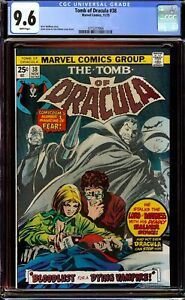 Tomb of Dracula #38...CGC 9.6 NM+ White pages