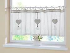 bandaufh ngung gardinen vorh nge im landhaus stil mit polyester f r k che g nstig kaufen ebay. Black Bedroom Furniture Sets. Home Design Ideas