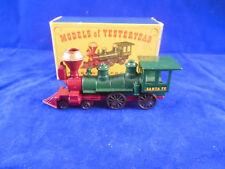 """Matchbox antaño Y13-1 1862 Locomotora de clase americano """"general"""" Santa Fe"""