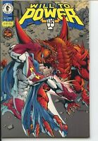 Will To Power 1994 series # 2 near mint comic book