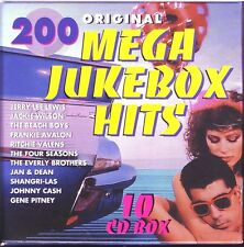 200 Mega JUKE-BOX HITS - 10 CD box