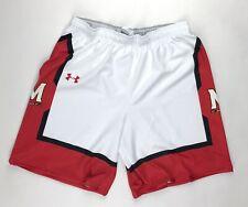 Under Armour Maryland Terrapins Terps Baseline Basketball Short Men's L White