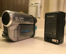 Sony Handycam Dcr-Dvd203 Dvd Camcorder w/ chrger & bad battery - Clean Condition