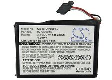 E3MT07135211 Battery for Mitac Mio P360, P560, P560t, P565 (P/N 02739004E) NEW
