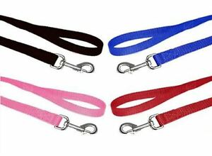 Small Dog,Puppy,Pet Nylon Weave Lead/Leash With Wrist Loop & Alloy Trigger Hook