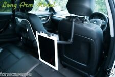 Long Bras support de voiture pour iPad,Google Nexus Tablette,iPad Mini et