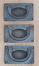 4 x Oriental Armadietto ottone porta hardware Disegna Pull Handle