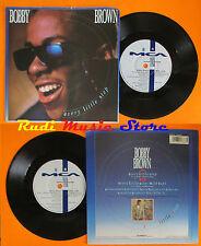LP 45 7'' BOBBY BROWN Every little step 1989 england MCA 1338 cd mc dvd