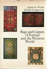 Rugs and Carpet Design History Europe Western World  Weeks 1969
