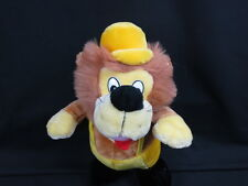 YELLOW BROWN KING OF THE JUNGLE LION HAT OVERALL PLUSH STUFFED ANIMAL TOY