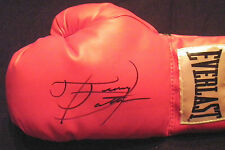 TRACY HARRIS PATTERSON AUTOGRAPHED SIGNED EVERLAST BOXING GLOVE