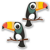 Fryetts TOUCAN Carnival Birds 100/% Cotton Fabric for Curtain// Upholstery//Crafts
