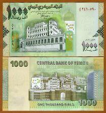 Yemen Arab Republic, 1000 (1,000) Rials 2009 P-36a, UNC
