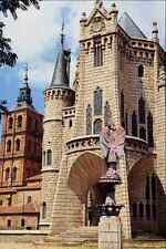 776098 Palacio De Gaudi And Cathedral Astorga Castilla Y Leon Spain A4 Photo Pri