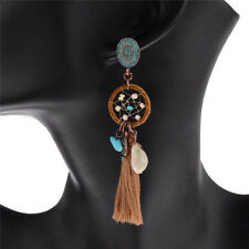 Antique Retro Style Bohemian Ethnic Tassel Earrings Ladied Girls Jewelry Charms