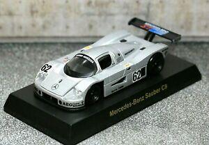 Kyosho 1/64 Mercedes-Benz Collection Sauber C9 1989 No.62 Le Mans SCHLESSER