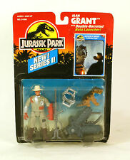 Jurassic Park Series II Alan Grant With Double Barreled Bola Launcher MOC Kenner