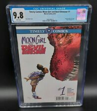 Timely Comics: Moon Girl and Devil Dinosaur #1 1st Appearance Lunella CGC 9.8 WP