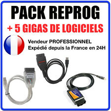 PACK COMPLET REPROGRAMMATION CALCULATEUR & DIAGNOSTIC OBD ELM327 MPPS GALLETTO