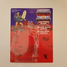 He-Man Laser Power Espada Luminosa Cardback CUSTOM