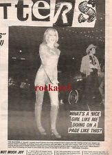 OLIVIA NEWTON-JOHN letters page UK ARTICLE / clipping 1980