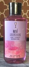 Bath & Body Works-Rose Champagne-Shower Gel-10oz-New