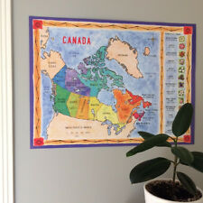 Map of Canada Hand Illustrated