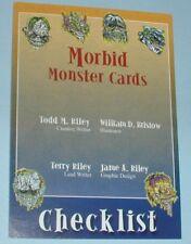 Morbid Monster Checklist Card Series 1 - 1999