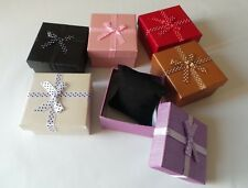 Square Watches Bracelets Jewellery Necklace Gift Box Padded Insert