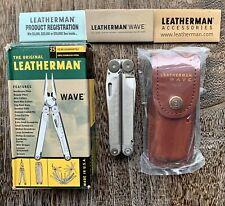 New Leatherman Original Wave multitool;  Rare, Collectible Multi Tool w/Box