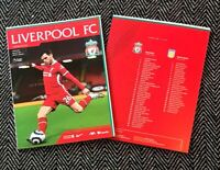 Liverpool v Aston Villa PREMIER LEAGUE Official Programme 10/4/21 READY TO POST!
