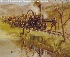 Cuneo Fine Arts - Richard Trevithick's Penydarren Locomotive by Terence Cuneo