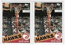1992-93 Topps Archives Spud Webb Lot of 2 1985 Rookie Style No. 75