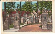 1928 The Entrance to Southwestern College in Memphis, TN Tennessee PC