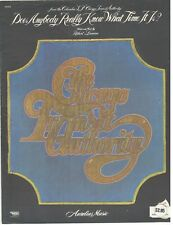 CHICAGO TRANSIT AUTHORITY-DOES ANYBODY REALLY KNOW WHAT TIME IT IS? SHEET MUSIC