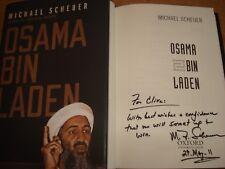 Osama Bin Laden,BY  Scheuer, Michael, SIGNED COPY F/E H/B 2011