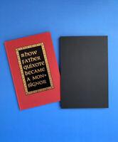 How Father Quixote Became a Monsignor Graham Greene Signed Sylvester & Orphanos