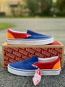 New VANS Classic Slip-On Corduroy VN0A4BV300Y Size 5Y Kids Youth Women Size 6.5